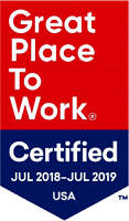 Great Place to Work 2019 Logo