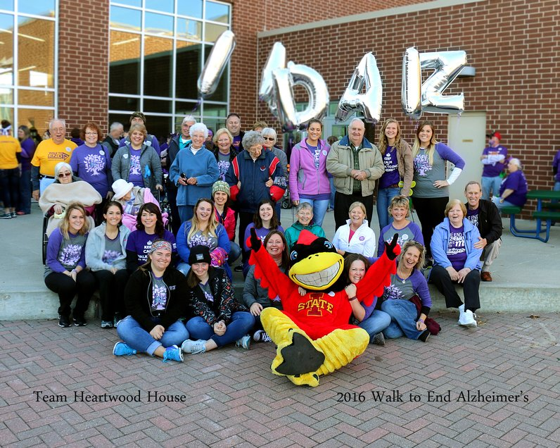 Members of Walk to End Alzheimer's