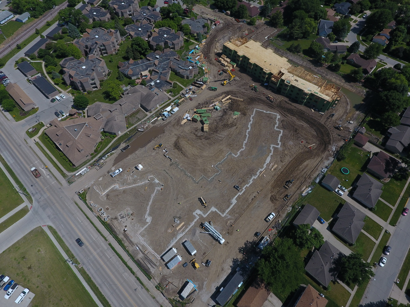 View Assisted Living Building Progress album